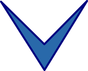 Blue Arrow Down Clip Art