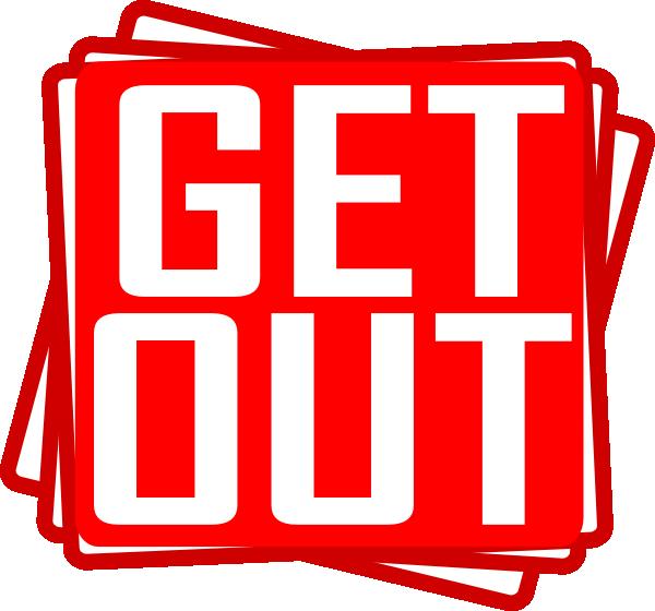 Get Out Clip Art at Clker.com - vector clip art online ...