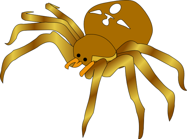 clipart spider - photo #8