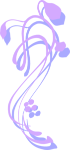 Purple And Blue Flowery Thing Clip Art