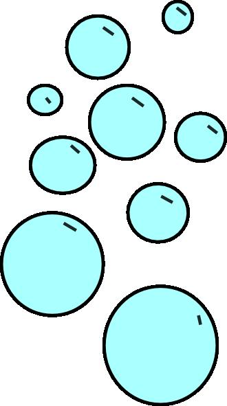 bubbles 4 clip art at clker com vector clip art online royalty rh clker com bubbles clip art free bubbles clip art free