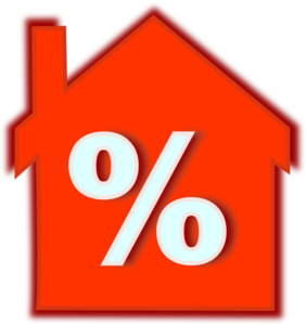 Home Loan Interest Rate Clip Art