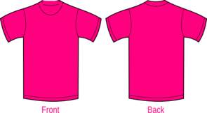 Plain Pink Shirt Clip Art