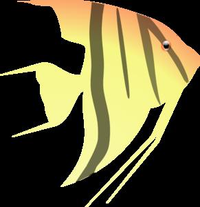 angel fish clip art at clker com vector clip art online royalty rh clker com angelfish clipart black and white Sea Turtle Clip Art