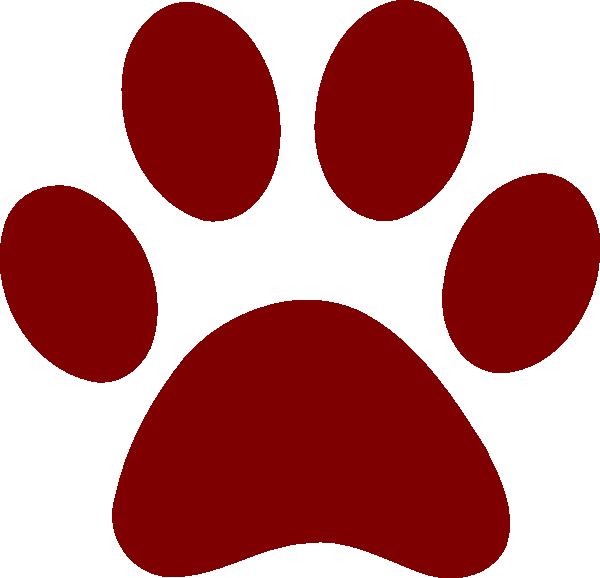 Maroon jaguar paw - photo#2