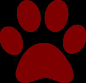 Maroon jaguar paw - photo#4