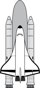 Nasa Space Shuttle Clip Art