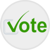 Vote Button Clip Art