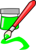 Green Paint Clip Art
