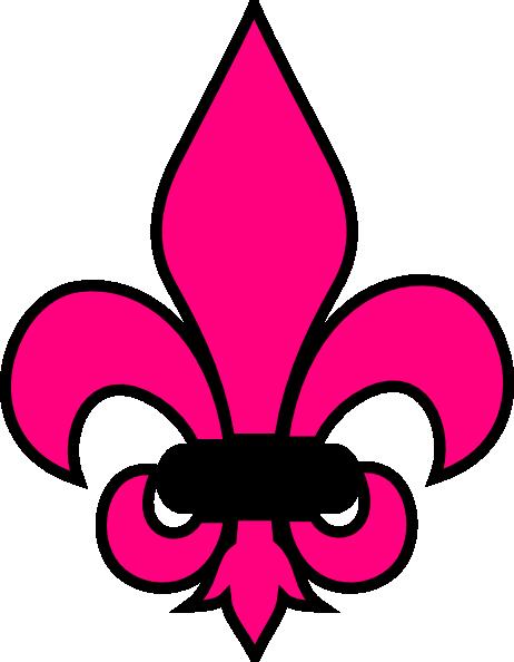diva clip art at clker com vector clip art online Saints Fleur De Lis Clip Art Fleur De Lis Outline