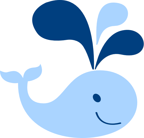 clipart baby shower whale - photo #4