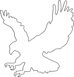 Eagle Outline Clip Art
