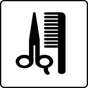 Hotel Icon Hair Salon Clip Art