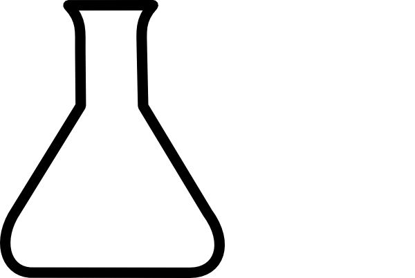 Erlenmeyer Flask further Clipart 136106 together with Glass beaker besides 5530 besides 2438529list. on chem flask clip art