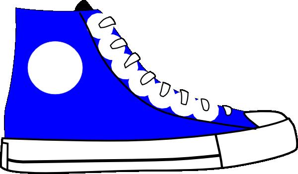 blue shoe clip art at clker com vector clip art online royalty rh clker com clip art tennis shoes free clip art tennis shoes free