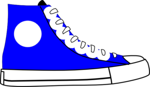 Blue Shoe Clip Art at Clker.com - vector clip art online, royalty free ...