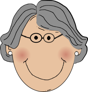 grandma clip art at clker com vector clip art online royalty free rh clker com clipart grandma on a cell phone clip art grandmother