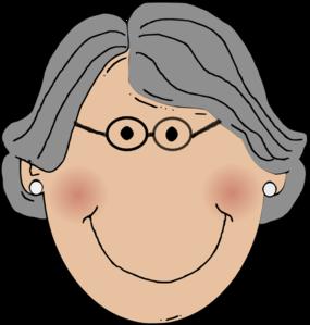 grandma clip art at clker com vector clip art online royalty free rh clker com grandma clipart black and white grandma clipart face