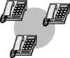 Telephone Network Clip Art