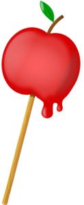 Candy Apple Clip Art