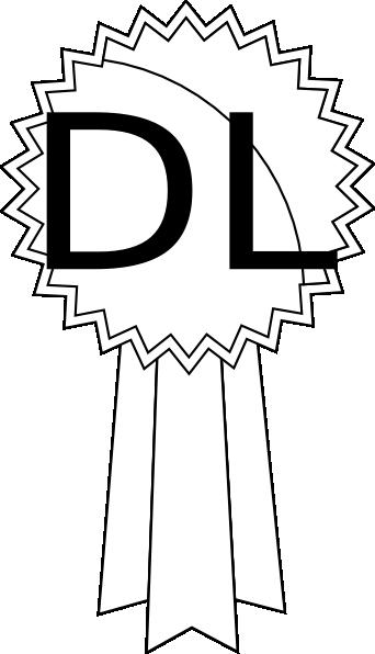 Dl First Prize Clip Art at Clker.com - vector clip art online ...