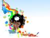Black Woman Rainbow Clip Art