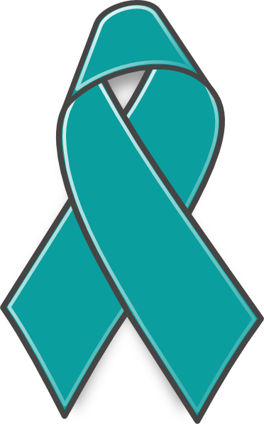 ovarian cancer ribbon clip art at clker com vector clip art online rh clker com Ovarian Cancer Awareness Ovarian Cancer Butterfly