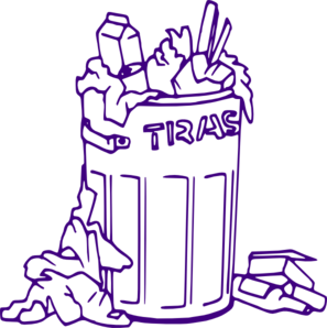 Rubbish Bin Clip Art