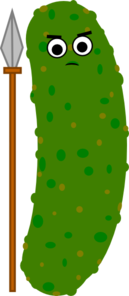 Spear Green Final Clip Art