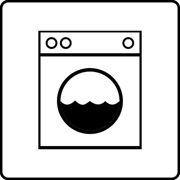 Hotel Icon Has Laundry Clip Art at Clker.com - vector clip art online ...