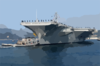 Uss Kitty Hawk Leaves For Routine Training Clip Art