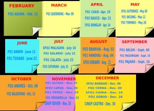 photo calendar online
