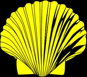 Green Seashell Clipart