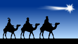 Three Wise Men Clip Art