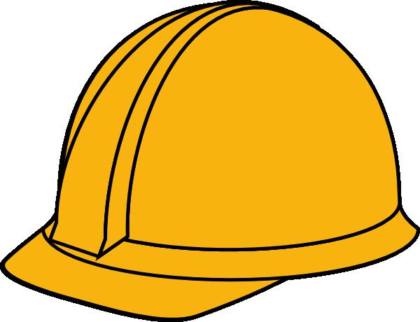 yellow hard hat clipart - photo #6