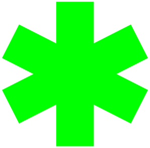 Star Of Life  Clip Art