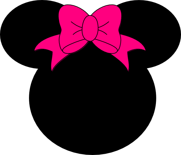 Minnie Mouse Bow No Dots Clip Art At Clker Com Vector
