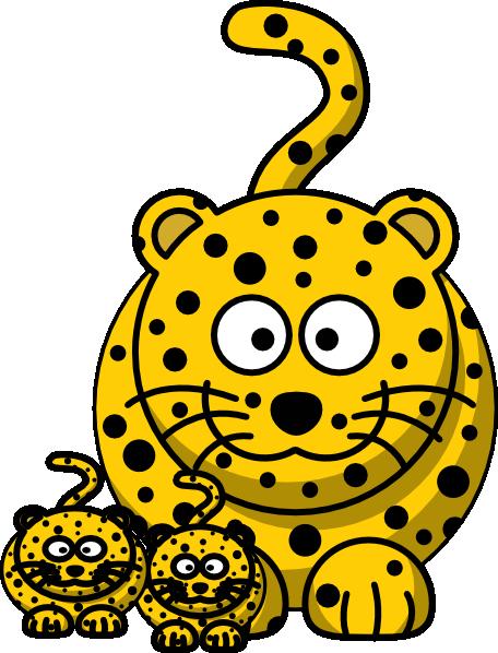 Leopard Baby Clip Art Clip Art At Clker Com Vector Clip