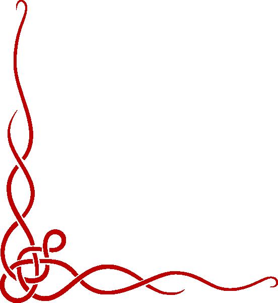 Red Ribbon Left Side Clip Art At Clker Com Vector Clip