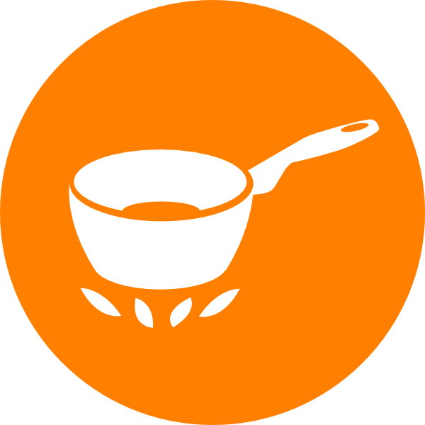 Cook Orange Pot Clip Art at Clker.com - vector clip art online ...