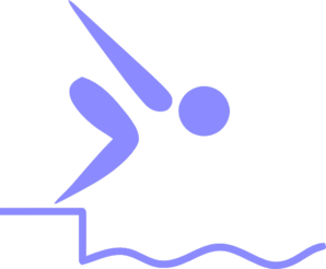 Swimmer Olympic Clip Art