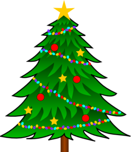 The Best Cartoon Christmas Tree Transparent Background