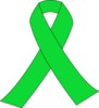 Lyme Disease Awareness Ribbon Clip Art