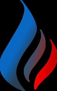 Blue Logo Flame Clip Art at Clker.com - vector clip art ...  Blue Flames Clip Art