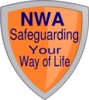 Orange Shield Nwa Clip Art