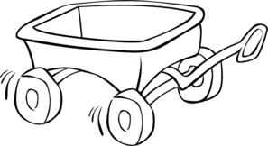 Wagon Outline Clip Art