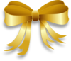 Gold Ribbon Clip Art