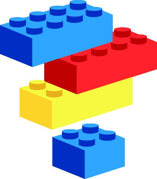 Lego Bricks Clip Art at Clker.com - vector clip art online ...