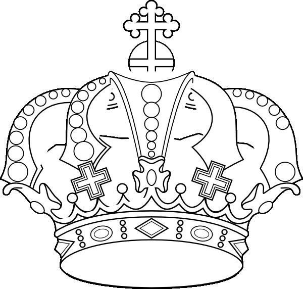 Stencil King Crown: Stencil,crown,color, Clip Art At Clker.com