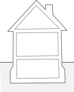 House Outline Clip Art